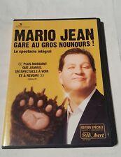 mario jean dvd 2012 gare au gros nounours !