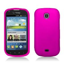 For Samsung Galaxy Stellar i200 Rubberized HARD Case Snap Phone Cover Rose Pink