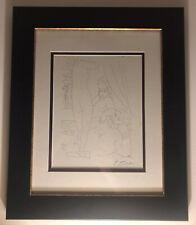 Circa 1952 Original Picasso Lithograph from Suite Vollard