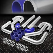"Universal 8Pc 2.5"" Aluminum Fmic Turbo Intercooler Piping+Elbow+Coupler Diy Kit"
