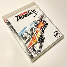 Burnout Paradise (Sony PlayStation 3, 2008) PS3 Complete