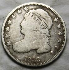 United States 1832 Silver Dime, Capped Bust