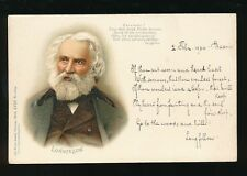 Germany Literature LONGFELLOW u/b PPC Used 1900