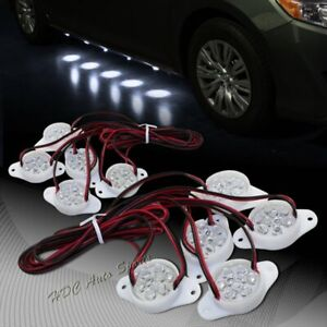 Brabus Style White 90-LED Underglow Under Car Puddle Lighting Lamp Universal