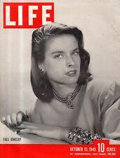 1945 Life October 15 - Harold's Club Gambling in Reno NV; Robot airplanes;Berlin