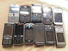 JOB LOT Old/Vintage Mobile Phones x12 Nokia Blackberry Sony Ericsson Samsung LG
