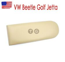 Beige PU Leather Center Console Armrest Cover For VW Golf Jetta MK4 Beetle Skoda