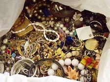 Lot of 20 lbs Grab Bag Jewelry - Vintage & Modern Crafts Harvesting Repair Wear