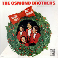 """OSMOND BROTHERS """"WE SING YOU A MERRY CHRISTMAS"""" PREMIUM QUALITY USED LP (NM/NM)"""