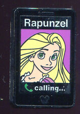 WDW 2014 Hidden Mickey Princess Mobile Cell Phones Rapunzel Disney Pin 102256