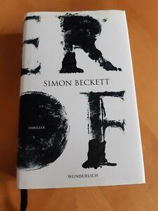Der Hof Simon Beckett Gebundene Ausgabe neuwertig Verlag Wunderlich Schutzumschl