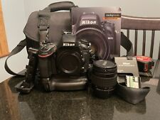 Nikon D610 24.3MP Digital SLR Camera - Black  + Extras