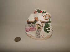 "Mouse Village House, ""Christmas Carol"" The Moushroom Collection, Deschenes 1991"