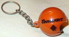 Coors Light Beer Key Chain - Bottle Opener - Shaped Like a Basketball....NEW