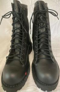 "Danner Acadia Men's 13 D Black Leather 8"" Tactical / LEO Boot NEW Gore-Tex"