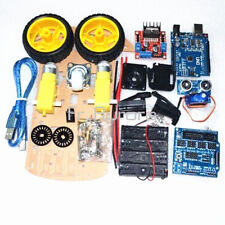 Tracking Motor Smart Robot Car Chassis Kit 2WD Ultrasonic Pour Arduino MCU L298N