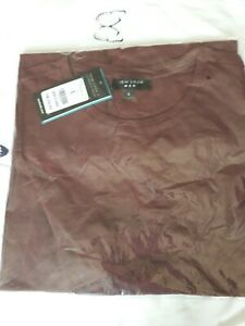 Men's BNWT Burgundy Tshirt, Size L, From New Look