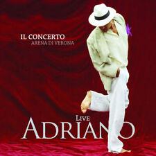 Celentano Adriano Adriano Live Il Concerto Doppio Cd Nuovo & Sigillato