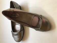 """NWOB~LIFE STRIDE WOMEN'S VEGAN LEATHER LOAFERS FLATS GREY PEWTER~6W~""""ATTENTION"""""""