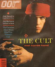 MAGAZINE OOR 1987 nr. 08 - JIMI HENDRIX/CULT (COVER)/JAN WOLKERS/ELISA WAUT