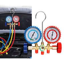 R12 R22 R134a R502 Manifold Gauge Set HVAC A/C Refrigeration Charging Service US