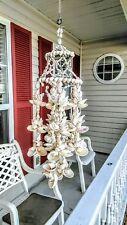 Sea Shell Wind Chime Beautiful Intricate Design and Shell Pattern