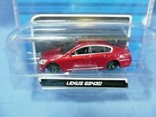 Maisto All Stars 1:64 Lexus GS430 Die Cast, Red, Lowered