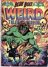 Blue Bolt Weird Tales #112 Photocopy Comic Book