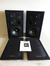 Vintage Technics SB-CS60 3 Way Floor Standing HIFI Speakers 120W - Amazing Sound
