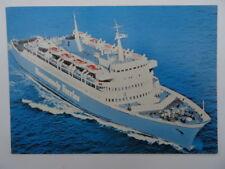 Vintage Postcard Normandy Ferries Southampton / Le Havre. MV Leopard. MV Dragon.