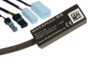 E-Bike Tuning bikespeed-RS für Bosch mit tatsächlicher Geschwindigkeitsanzeige