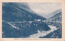 ITALIE ITALY ITALIA GORIZIA l'isonzo con la linea forroviaria écrite 1916