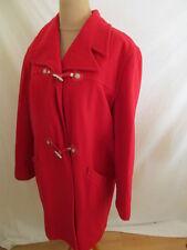 Manteau Versace Rouge Taille M à - 86%