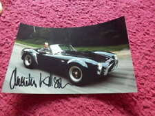 MOTOR CARS - TV PRESENTER - QUENTIN WILSON  - AUTOGRAPHED PHOTO