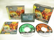 Dungeons And Dragons COLLECTION + RAM Item Ref/163 Sega Saturn Japan Game ss