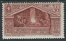 1930 REGNO VIRGILIO 5 LIRE MH * - Y064-2