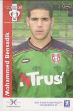 AUTOGRAMMKARTE / AUTOGRAPHCARD Mohammed Bensadik FC Dordrecht 2003/2004