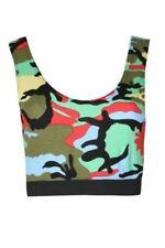 T-shirt, maglie e camicie da donna senza maniche multicolore taglia M