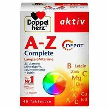 A-Z Complete DEPOT Langzeit-Vitaminem, 23 Vitamine,Mineralstoffe Spurenelemente
