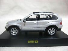 1:64 Kyosho BMW X5 Silver Diecast Model Car