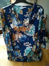 Markenlose geblümte 3/4 Arm Damenblusen, - tops & -shirts