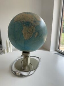 Toller SCAN - GLOBE A/S Globus mit Leuchtpunkt, 70er J. Leuchtglobus