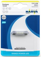 Car LED Lamp Range Power Replacement C5W Festoon SV8.5 12V 0.6W NARVA 180064000