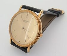 Patek Philippe Solid Gold Case Wristwatches