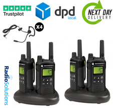 Motorola XT180 Two Way Radio Walkie Talkie PMR446 - Quad Pack
