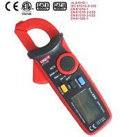 UNI-T Digital Clamp Meter Multimeter UT210B True RMS Auto range AC200A NCV DATA