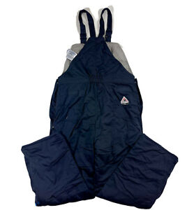 Bulwark FR Insulated Flame Resistant Bib Overalls Work Men's Size XL