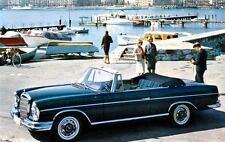 1963 Mercedes 300 SE Cabriolet Factory Photo J2514