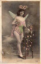 BD554 Carte Photo vintage card RPPC Femme woman Laliette Olympia Paris Walery