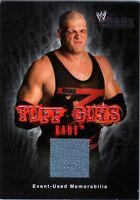 WWE Kane 2004 Fleer Chaos Tuff Guys Event Used Mat Memorabilia Relic Card